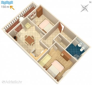 Apartment A-2358-b - Apartments Duga Luka (Prtlog) (Labin) - 2358