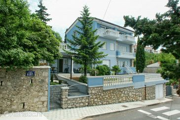 Property Crikvenica (Crikvenica) - Accommodation 2360 - Apartments near sea with pebble beach.