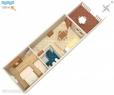 Apartment A-2367-a - Apartments Duga Luka (Prtlog) (Labin) - 2367