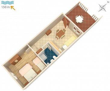 Apartament A-2367-a - Apartamenty Duga Luka (Prtlog) (Labin) - 2367