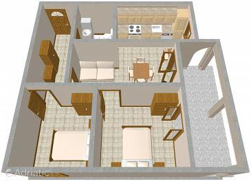 Apartment A-2370-a - Apartments Presika (Labin) - 2370
