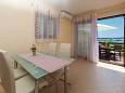 Jadranovo, Dining room u smještaju tipa apartment, dopusteni kucni ljubimci i WIFI.