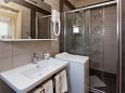 Jadranovo, Bathroom u smještaju tipa apartment, dopusteni kucni ljubimci i WIFI.