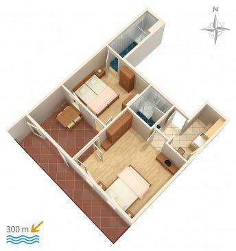 Apartament A-2378-c - Apartamenty Dramalj (Crikvenica) - 2378