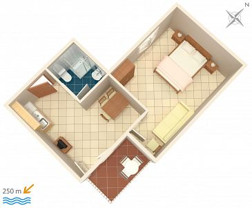 Apartament A-2383-c - Apartamenty Selce (Crikvenica) - 2383