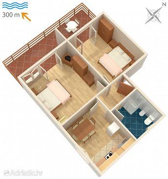 Apartment A-2386-b - Apartments and Rooms Dramalj (Crikvenica) - 2386