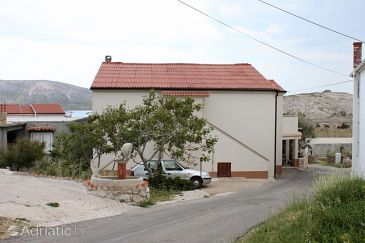 Property Zubovići (Pag) - Accommodation 239 - Apartments near sea with pebble beach.