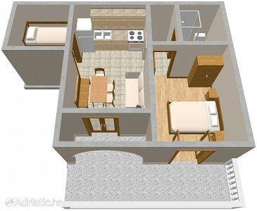 Apartment A-2398-a - Apartments Povile (Novi Vinodolski) - 2398