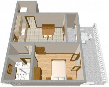 Apartment A-2398-c - Apartments Povile (Novi Vinodolski) - 2398