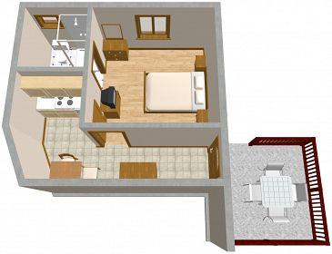Apartament A-2404-a - Apartamenty Selce (Crikvenica) - 2404