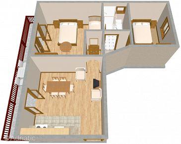 Apartment A-2404-b - Apartments Selce (Crikvenica) - 2404
