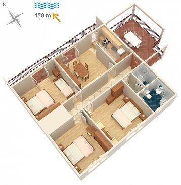 Apartment A-2416-a - Apartments Novi Vinodolski (Novi Vinodolski) - 2416