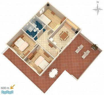 Apartament A-2417-a - Apartamenty Novi Vinodolski (Novi Vinodolski) - 2417