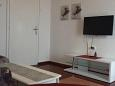 Novi Vinodolski, Living room u smještaju tipa apartment, dostupna klima i WIFI.