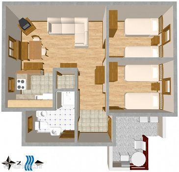 Apartment A-2419-b - Apartments Novi Vinodolski (Novi Vinodolski) - 2419