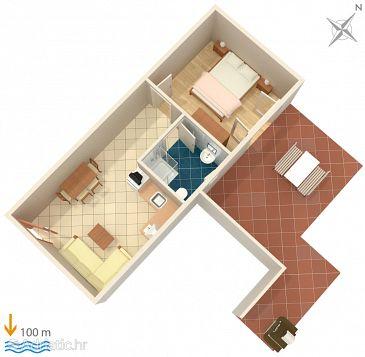 Apartment A-2446-b - Apartments Mali Lošinj (Lošinj) - 2446