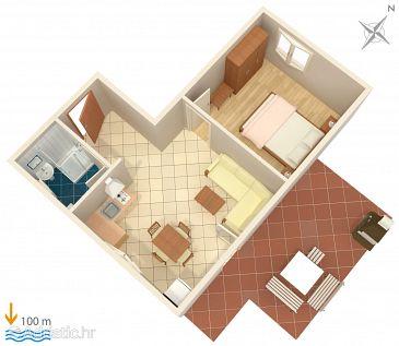 Apartment A-2446-c - Apartments Mali Lošinj (Lošinj) - 2446