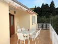 Terrace - Apartment A-2460-a - Apartments Uvala Rogačić (Vis) - 2460