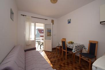 Zavalatica, Dining room u smještaju tipa apartment, dopusteni kucni ljubimci i WIFI.