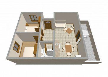 Apartament A-247-e - Apartamenty Zavalatica (Korčula) - 247