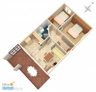 Apartment A-2470-a - Apartments Vis (Vis) - 2470