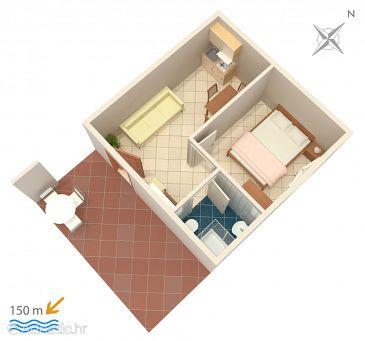 Apartment A-2470-b - Apartments Vis (Vis) - 2470