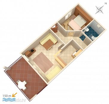 Apartment A-2470-c - Apartments Vis (Vis) - 2470