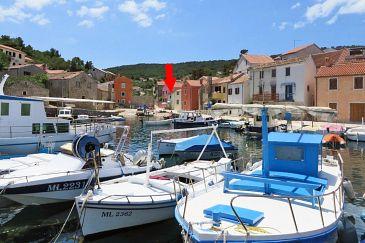 Property Veli Lošinj (Lošinj) - Accommodation 2480 - Apartments near sea with pebble beach.