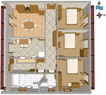 Apartment A-2484-a - Apartments Mali Lošinj (Lošinj) - 2484
