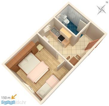 Apartment A-2491-b - Apartments Mali Lošinj (Lošinj) - 2491
