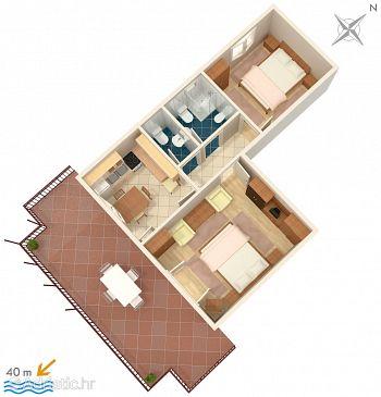 Apartment A-2493-b - Apartments Mali Lošinj (Lošinj) - 2493