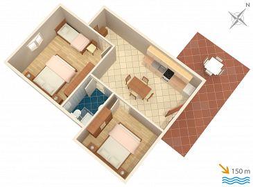 Apartament A-2510-a - Apartamenty Cres (Cres) - 2510