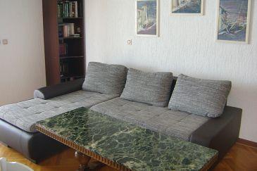Babići, Living room u smještaju tipa apartment, dostupna klima i WIFI.
