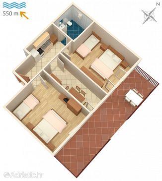 Apartment A-2536-a - Apartments Novigrad (Novigrad) - 2536