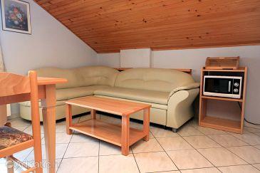 Paolija, Obývací pokoj u smještaju tipa apartment, WIFI.
