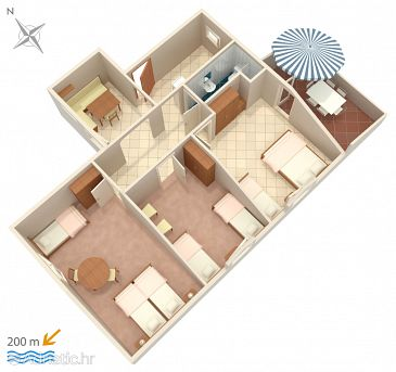 Apartment A-2549-a - Apartments Umag (Umag) - 2549