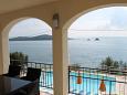 Seget Vranjica, Terrace - view u smještaju tipa apartment, dopusteni kucni ljubimci i WIFI.