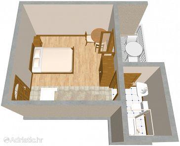 Studio flat AS-2575-a - Apartments Podaca (Makarska) - 2575