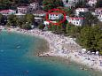 Property Baška Voda (Makarska) - Accommodation 2578 - Apartments and Rooms near sea with pebble beach.