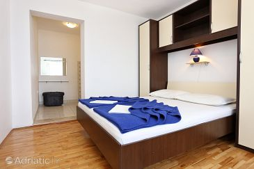 Trpanj, Bedroom u smještaju tipa room, dopusteni kucni ljubimci i WIFI.