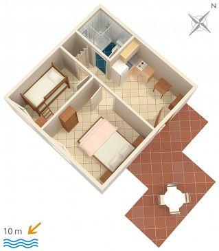 Apartment A-2583-c - Apartments Uvala Jedra (Hvar) - 2583