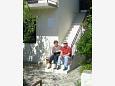Podaca, Makarska, Hosts 2590 - Apartments blizu mora with pebble beach.