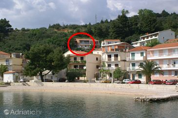 Property Podgora (Makarska) - Accommodation 2593 - Apartments near sea with pebble beach.