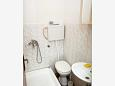 Bathroom - Studio flat AS-2613-a - Apartments and Rooms Podaca (Makarska) - 2613