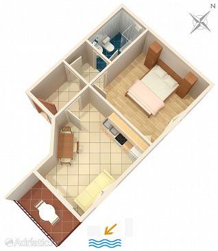 Apartment A-2614-a - Apartments Podgora (Makarska) - 2614