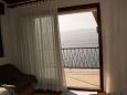 Podgora, Balcony u smještaju tipa apartment, s pogledom na more i WIFI.