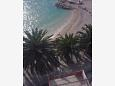 Balcony - view - Studio flat AS-2616-d - Apartments and Rooms Podgora (Makarska) - 2616