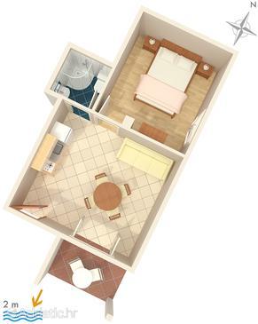 Apartment A-2625-b - Apartments Zaostrog (Makarska) - 2625