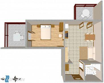 Apartment A-2627-a - Apartments Bratuš (Makarska) - 2627