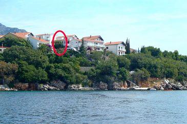 Obiekt Podaca (Makarska) - Zakwaterowanie 2633 - Apartamenty blisko morza.